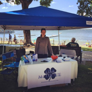 Best weather ever for the Beachside Authorfest in Lake Geneva today. Stop by and say hi!